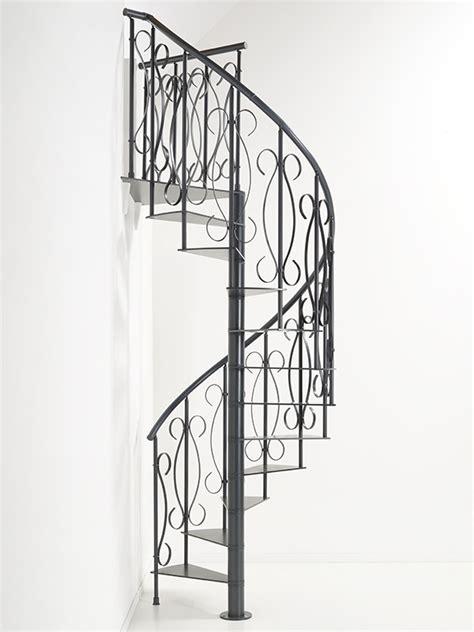 escalier h 233 lico 239 dal en colima 231 on en m 233 tal fer forg 233 fontanot unique 216 130 cm escaliers en