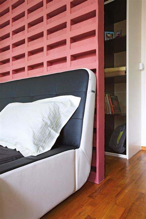 Bedroom Decor Behind Bed