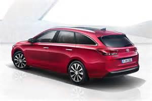 2017 Hyundai i30 Wagon Revealed, Has Shooting Brake