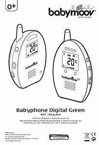 Multimetre Digital Mode D Emploi : mode d 39 emploi babymoov babyphone audio green digital ~ Dailycaller-alerts.com Idées de Décoration