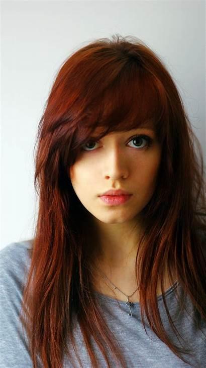 Redhead Gorgeous Mobile Woman Wallpapers Wallpapersafari