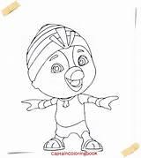 Wing Coloring Cartoon Series Crop sketch template