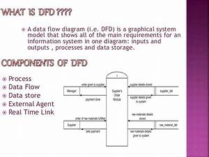 Co Relation Between Dfd  U0026 Event Table