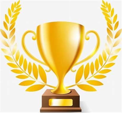 Trophy Clipart Champion Golden Cup Achievement Creative