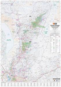 Hema Flinders Ranges Map - Expedition Australia