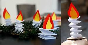 Kerzen Selber Machen Mit Kindern : adventskranz basteln mit kindern 10 bastelideen aus papier ~ Watch28wear.com Haus und Dekorationen