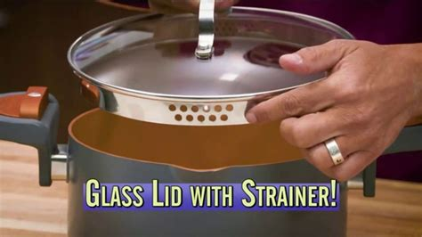 gotham steel pasta pot tv commercial perfect straining featuring daniel green ispottv