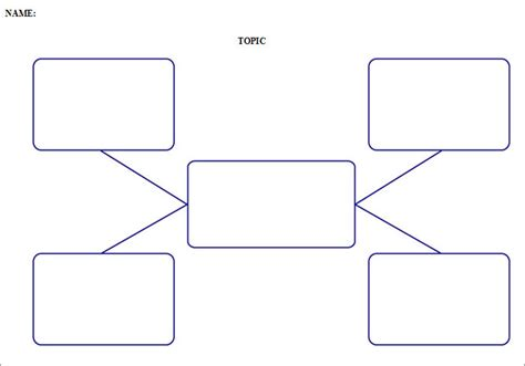 Mind Map Template Pdf Erieairfair
