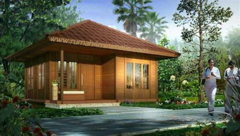 gambar rumah kayu gambar desain model rumah minimalis