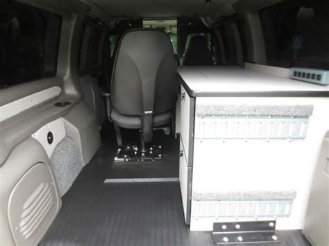 buy   chevy express  mobile office van rear