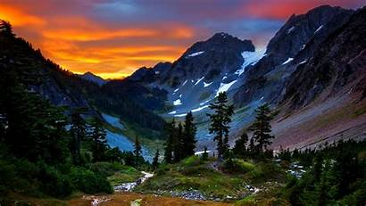 Mountains Desktop Backgrounds Mountain Sunset Valley Earth