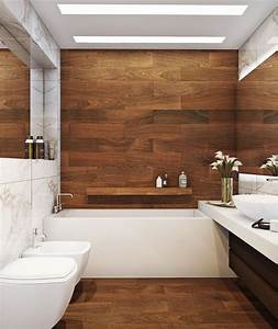stunning salle de bain contemporaine bois design patio at With salle de bain design bois
