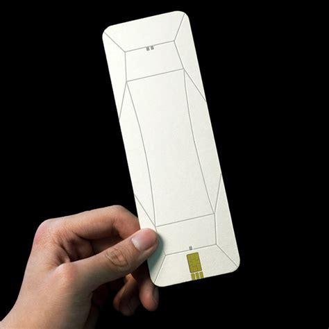 Tridimensional Origami Phone | Yanko Design