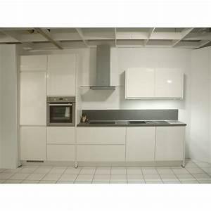 Küche Weiß Hochglanz : einbauk che nobilia ausstellungsk che k che k chenzeile ~ Watch28wear.com Haus und Dekorationen