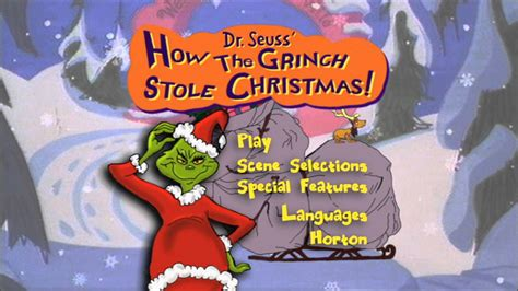 Search Results For How The Grinch Stole Christmas Menu