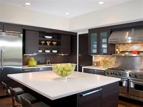 Galley Kitchen Designs Ideas - modern kitchen backsplashes pictures ideas from hgtv hgtv