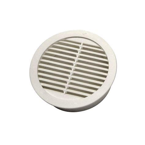 attic fan louver cover master flow 2 in resin circular mini wall louver vent in
