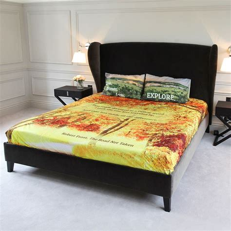 Design Your Bedding by Personalised Bed Sheets Design Your Own Bedding