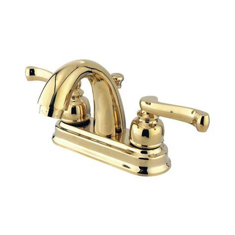 kitchen faucets atlanta shop elements of design atlanta polished brass 2 handle 4
