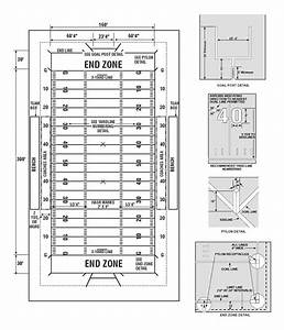 High School Of American Football Field Dimensions Pictures To Pin On Pinterest