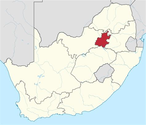 Filegauteng In South Africasvg Wikitravel