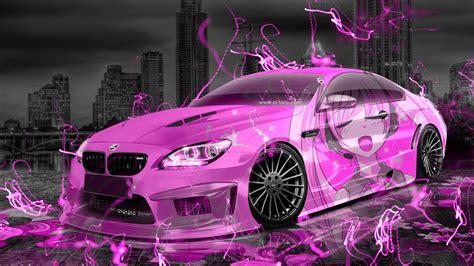 bmw  hamann tuning anime girl  aerography city car