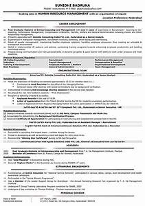 examples of resumes example resume format view sample With sample resume for experienced hr executive