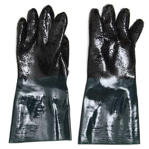 2pcs 35cm pvc sandblast gloves replacement for sandblast