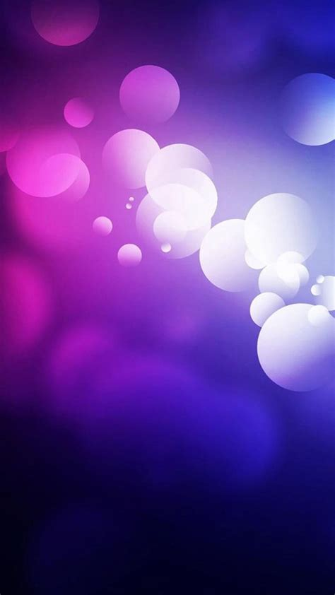 Purple Abstract Mobile Background, Picture, Image