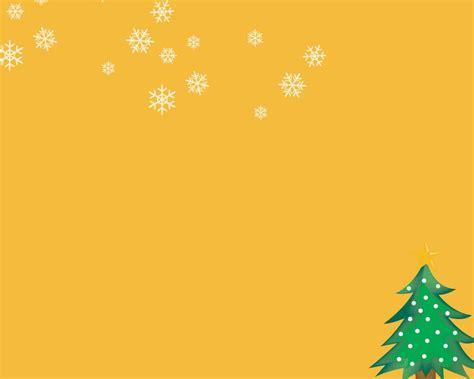 powerpoint christmas background christmas tree orange