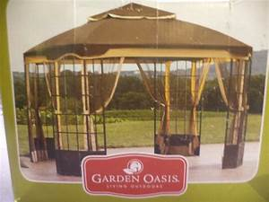 Garden Oasis Replacement Canopy For 10#039; X 12#039; Bay ...