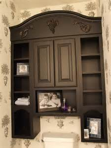 Bathroom Storage Over the Toilet Wall Cabinet