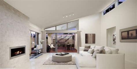 raked ceiling  windows lounge room ideas pinterest