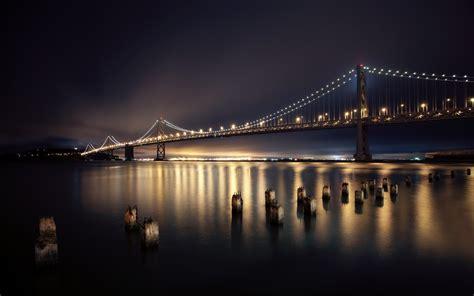 city lights sf bridges san francisco city lights exposure