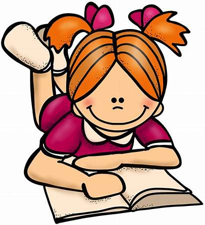 Clipart Reading Student Self Students Clipartion Cliparts