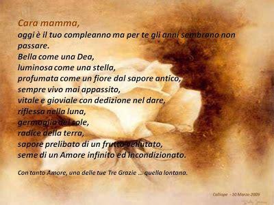 Lettere Per La Mamma Compleanno by Perle Di Infinito Buon Compleanno Mamma