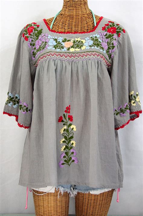 embroidered peasant blouse blouse embroidered peasant scarf blouse top