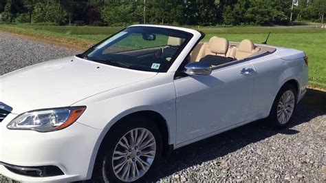 2014 Chrysler 200 Limited Convertible-retractable Hardtop