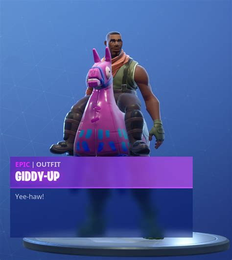 fortnite giddy  skin outfit pngs images pro game