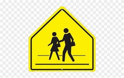 Sign Crosswalk Clipart Railroad Crossing Signs Safety