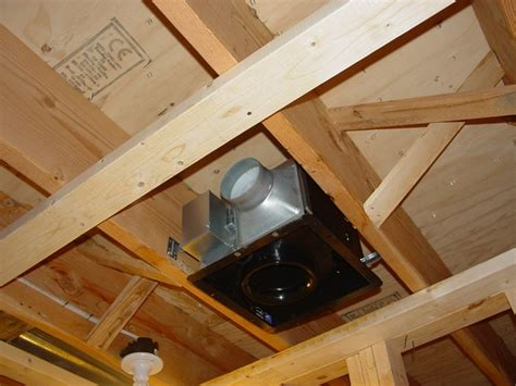 replace bathroom exhaust fan between floors ductwork installation introduction