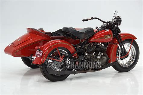 Harleydavidson W Motorcycle With Sidecar Auctions Lot