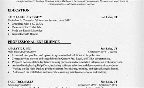 entry level information technology resume sles entry level information technology security guards companies
