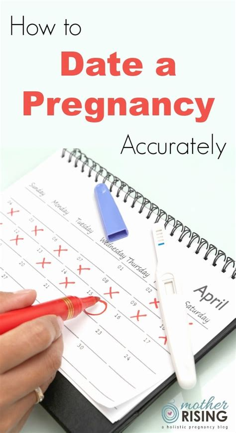 How To Date A Pregnancy Mother Rising
