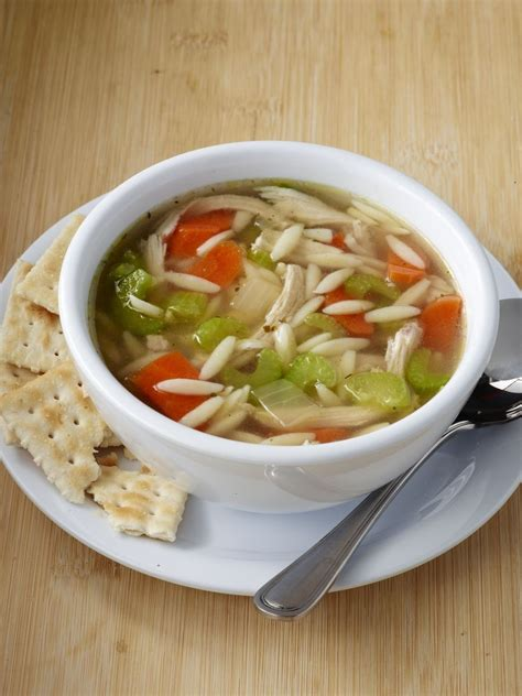 chicken  orzo soup  zoes kitchen orzo soup zoes