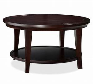 Metropolitan Round Coffee Table Pottery Barn