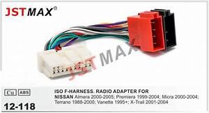 Nissan Nv200 Radio Adapter : jstmax 12 118 car iso radio plug for nissan stereo wiring ~ Kayakingforconservation.com Haus und Dekorationen
