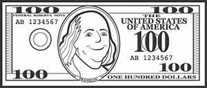 Clip Art Of 3 $ 100 Bills Clipart - Clipart Suggest