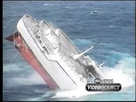Nightmares Oceana Follow Up by This Footage Of The Mts Oceanos Sinking Is Still