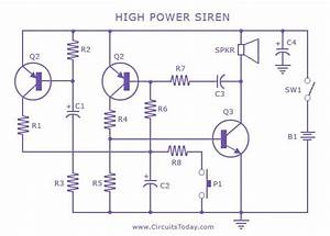 Newyork Gps  High Power Siren Circuit